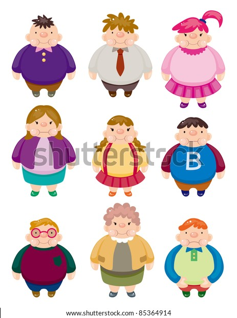 Animated Clip Art Fat People