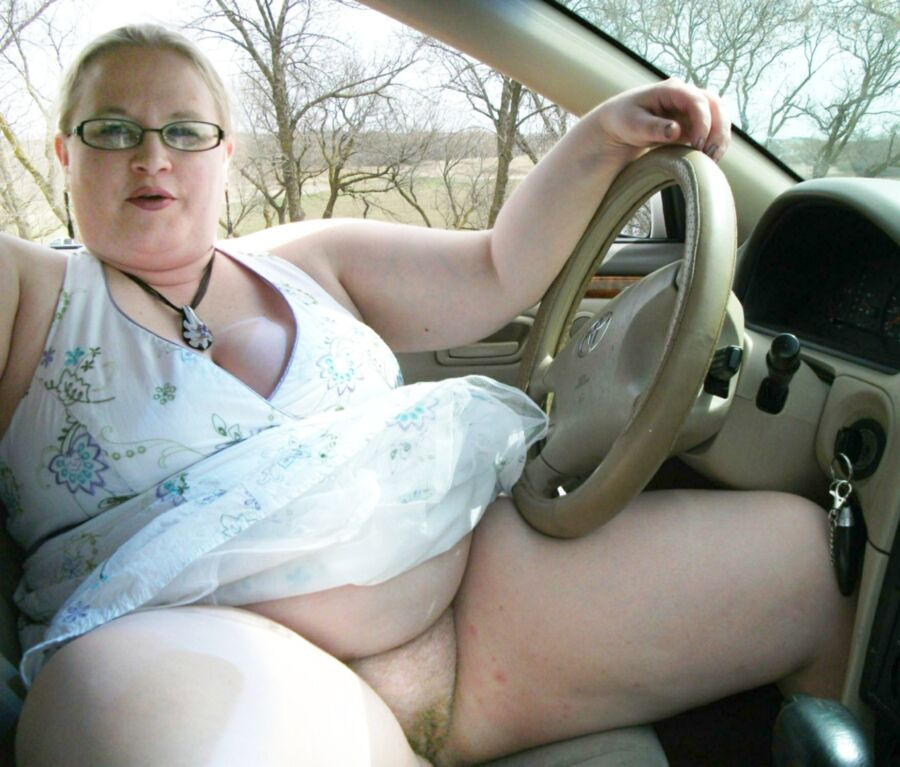 Bbw Driving Naked Pictures