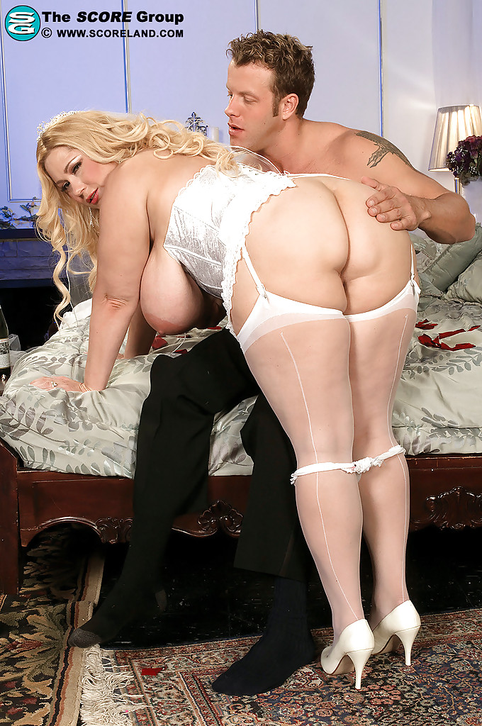 Bbw In White Stockings Images