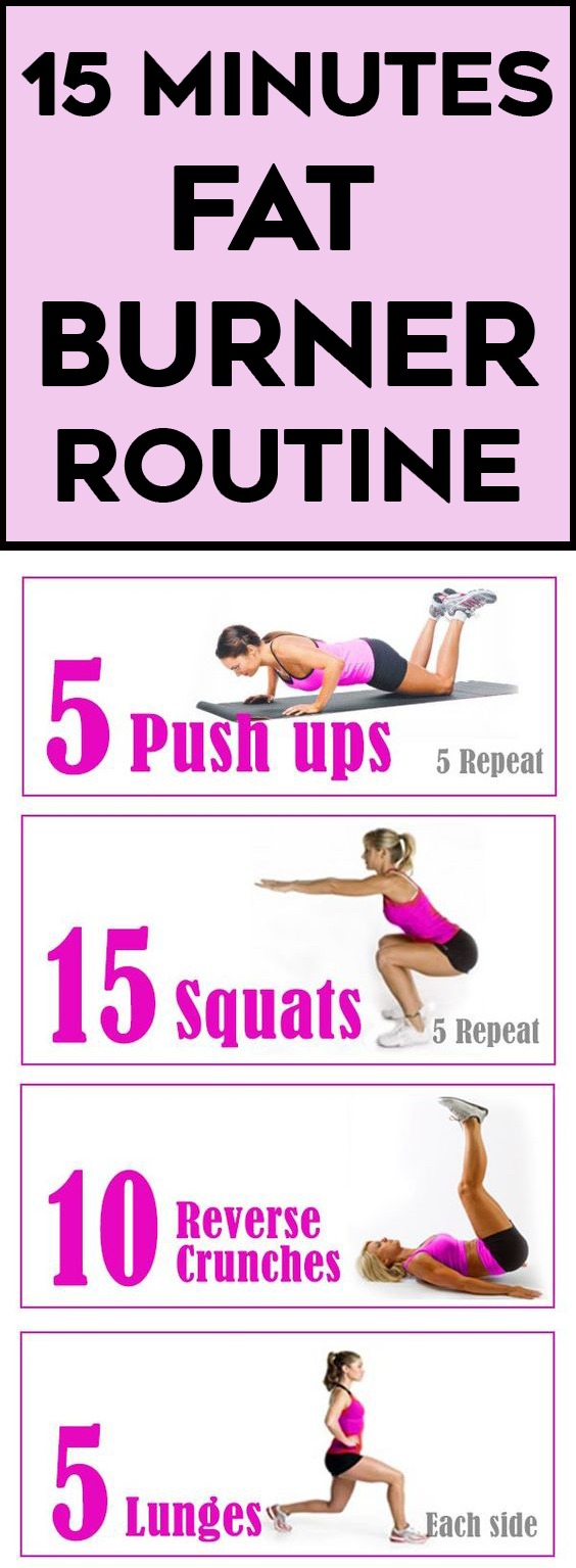 Belly Fat Burning Workout Pics