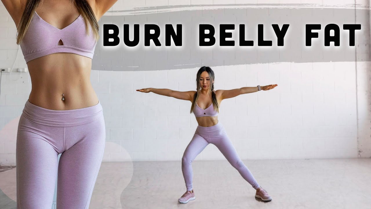Belly Fat Burning Workout Png