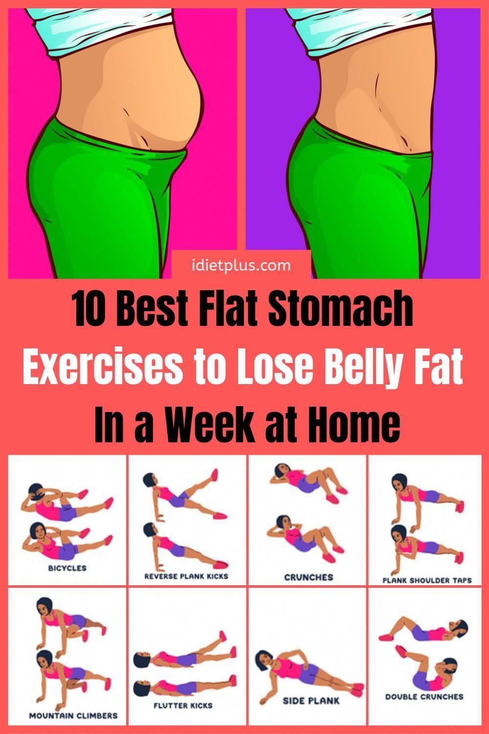 Belly Fat Burning Workout Scenes