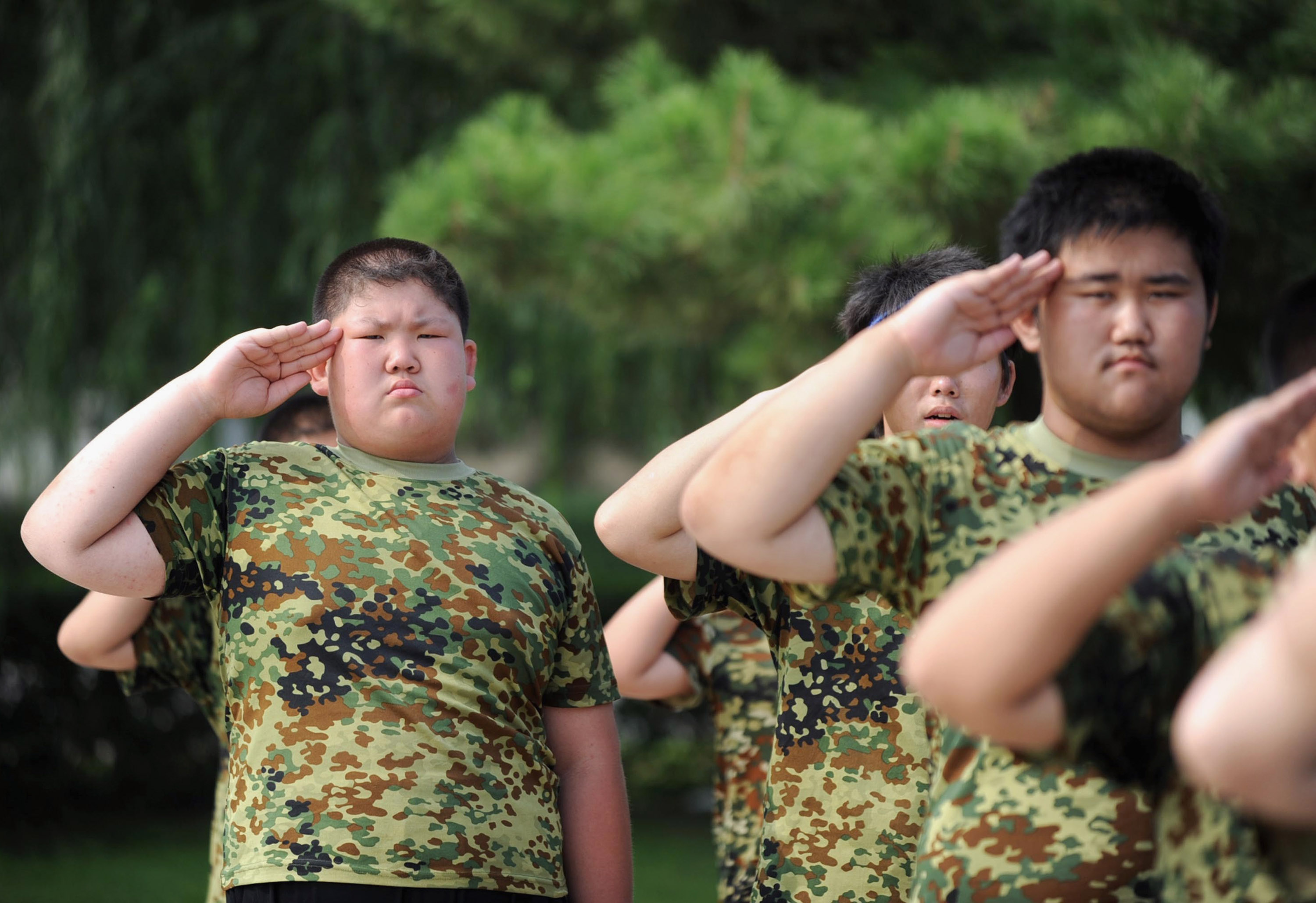 Chinese Fat Camp Pics