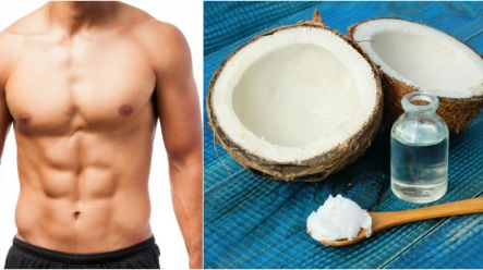 Coconut Oil Belly Fat Images