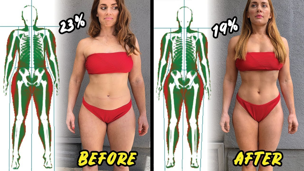 Cutting Body Fat Percentage Pictures