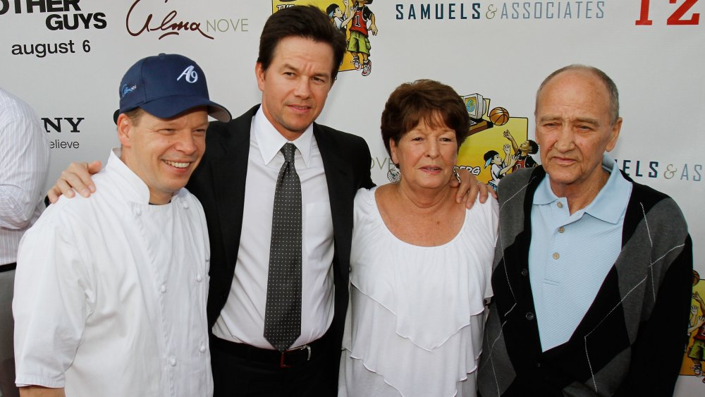 Donnie Wahlberg Father
