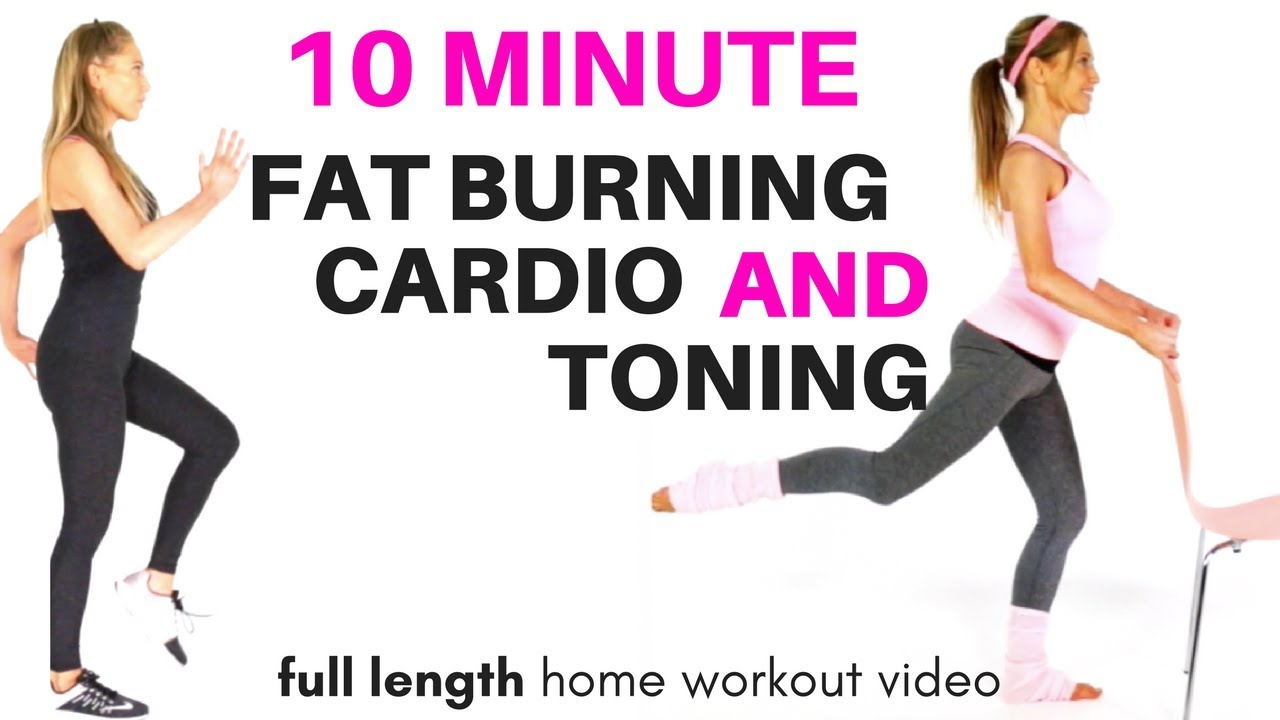 Fat Burning Home Exercises Gif