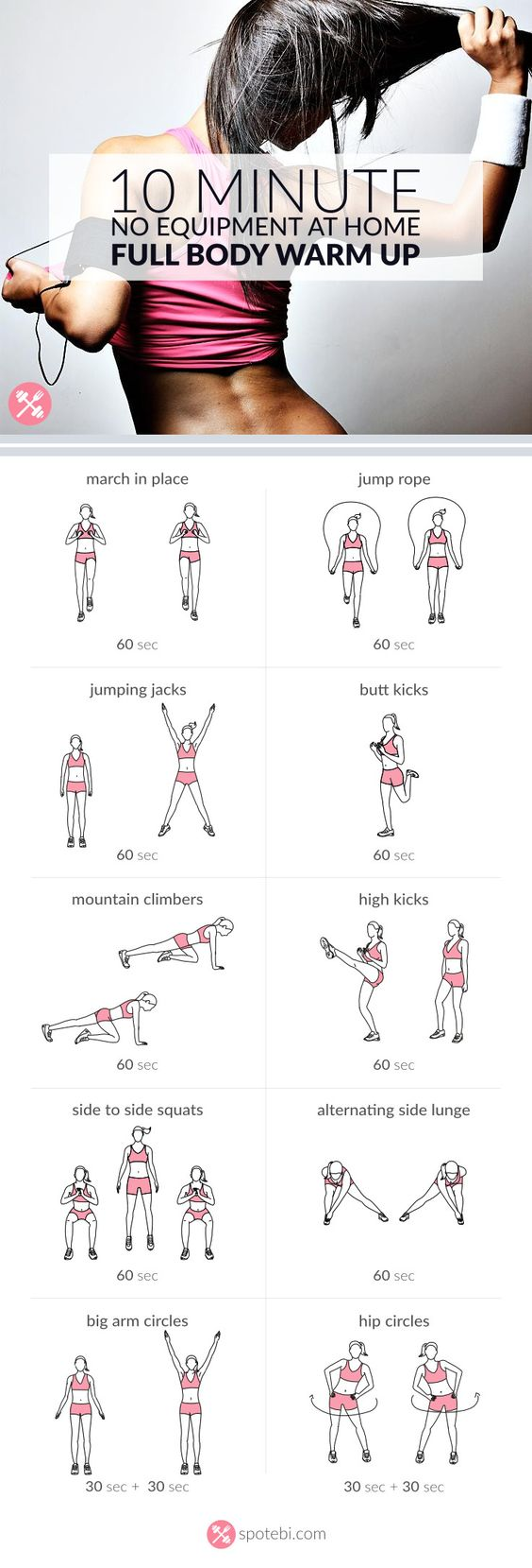Fat Burning Home Exercises Images
