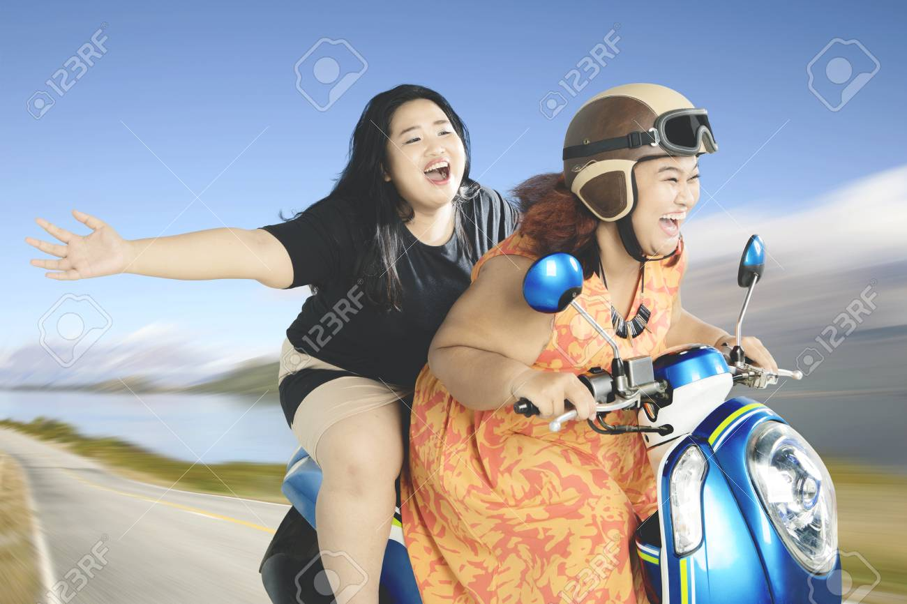 Fat Chick On Scooter Pictures