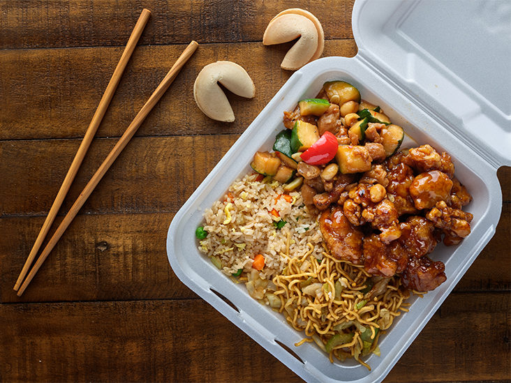 Fat Grams In Chinese Food Pictures