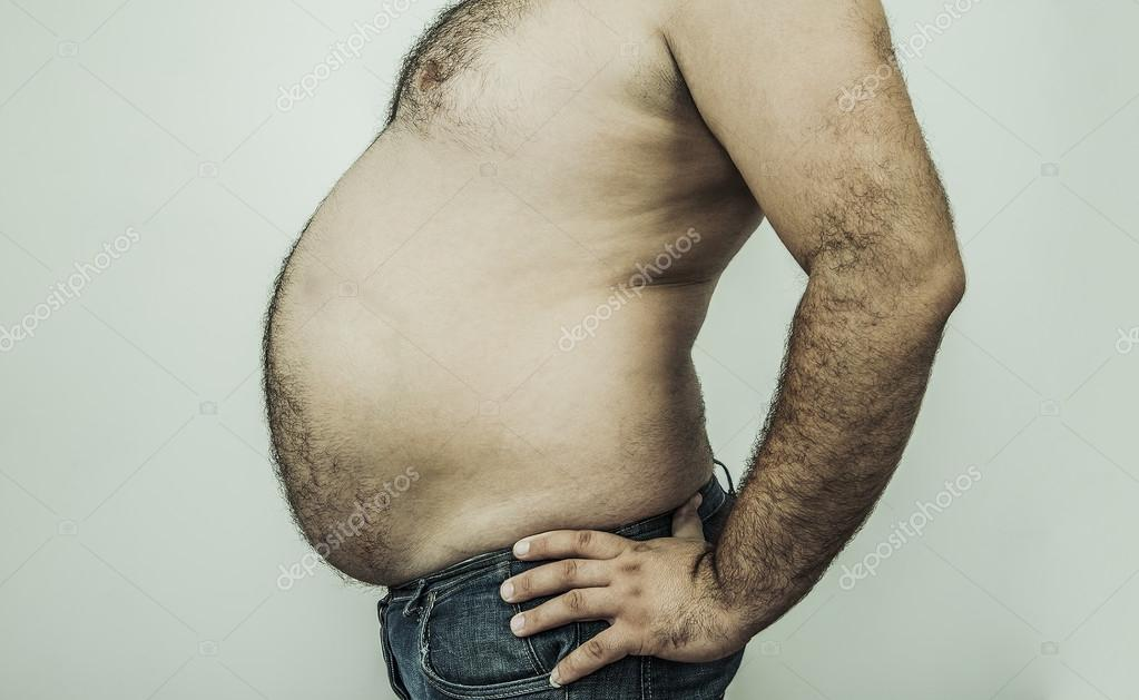 Fat Guy Gut Png