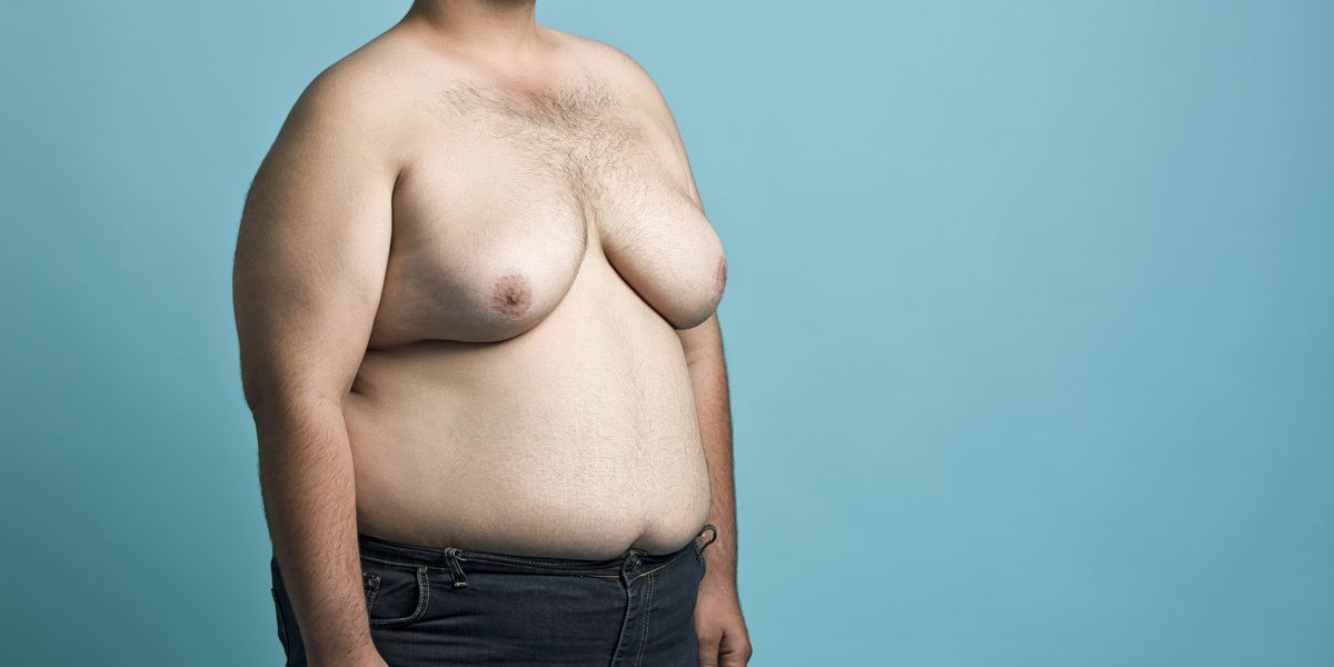 Fat Man With Breast Png