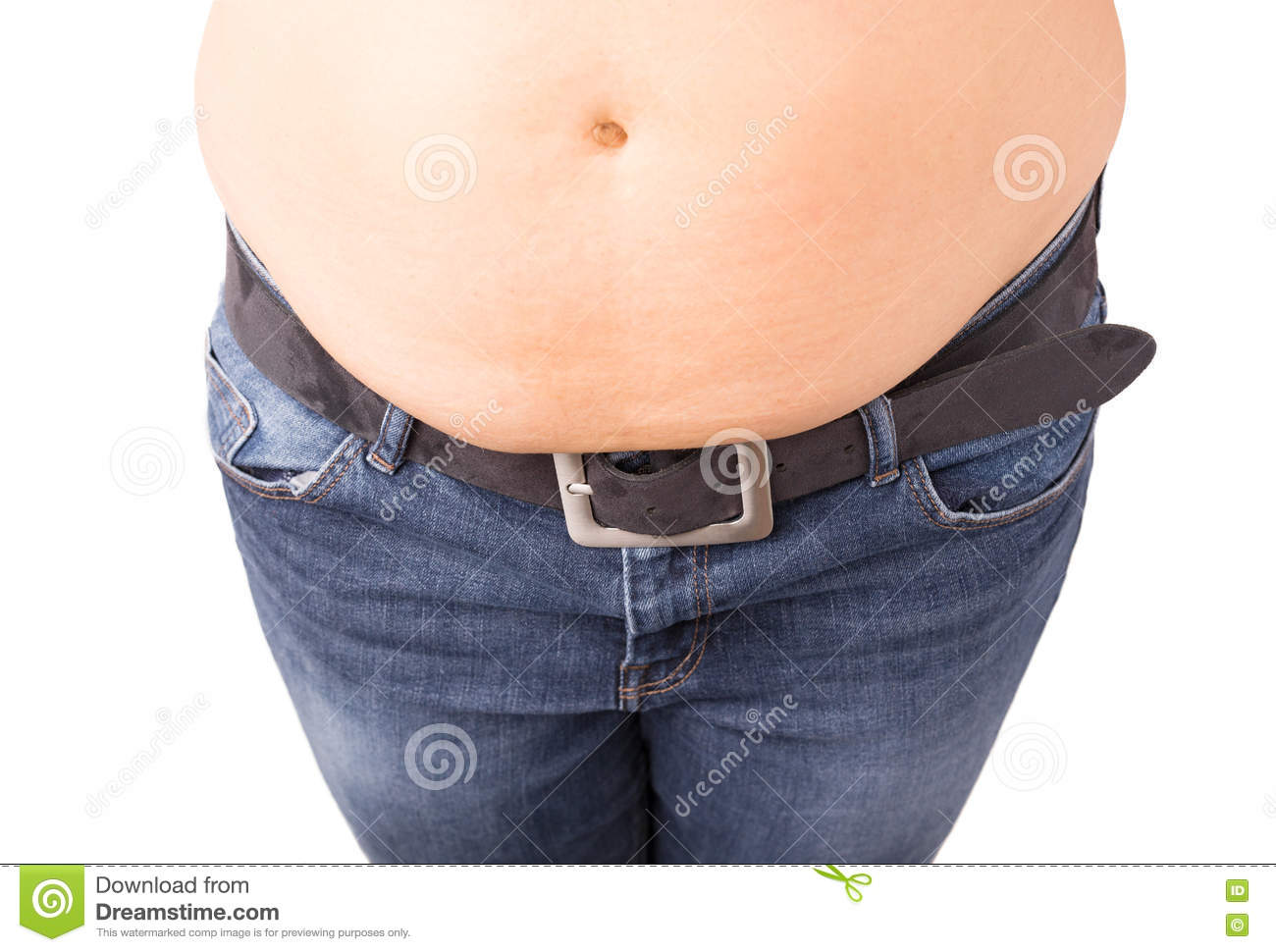 Fat Over Pants