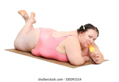 Fat Person Eating Ice Cream Pic