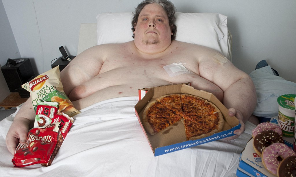 Fat Person Eating Pizza Gif