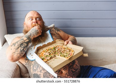 Fat Person Eating Pizza Images