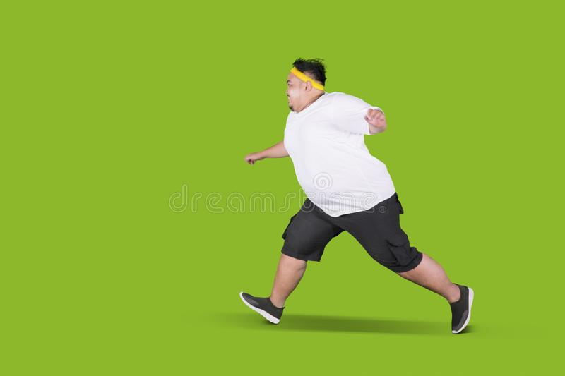 Fat Person Running Pictures