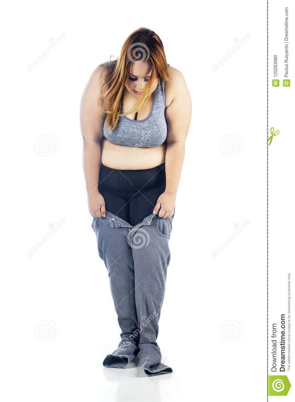 Fat Tight Jeans Images