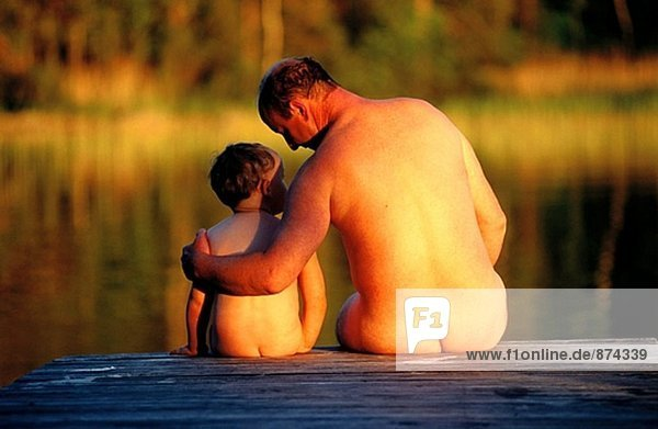 Father And Son Nudists Gif