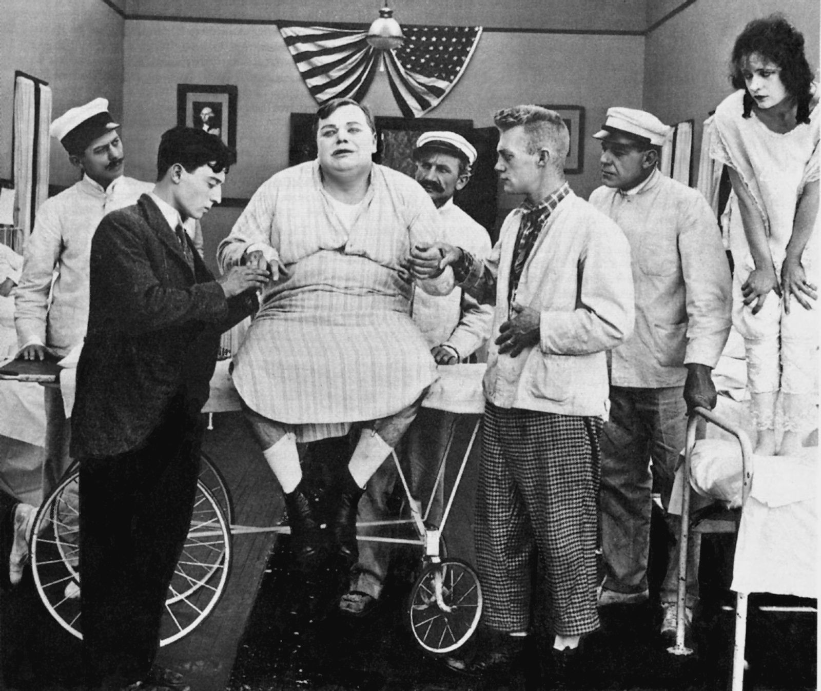 Fatty Arbuckle Buster Keaton Images