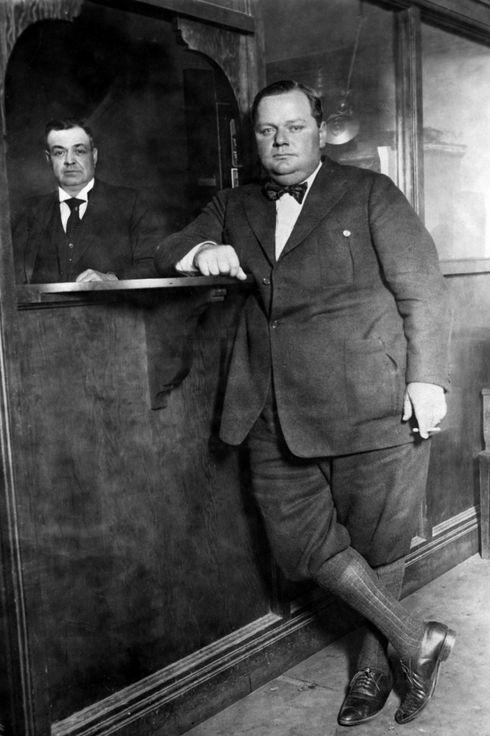 Fatty Arbuckle Trial Pic