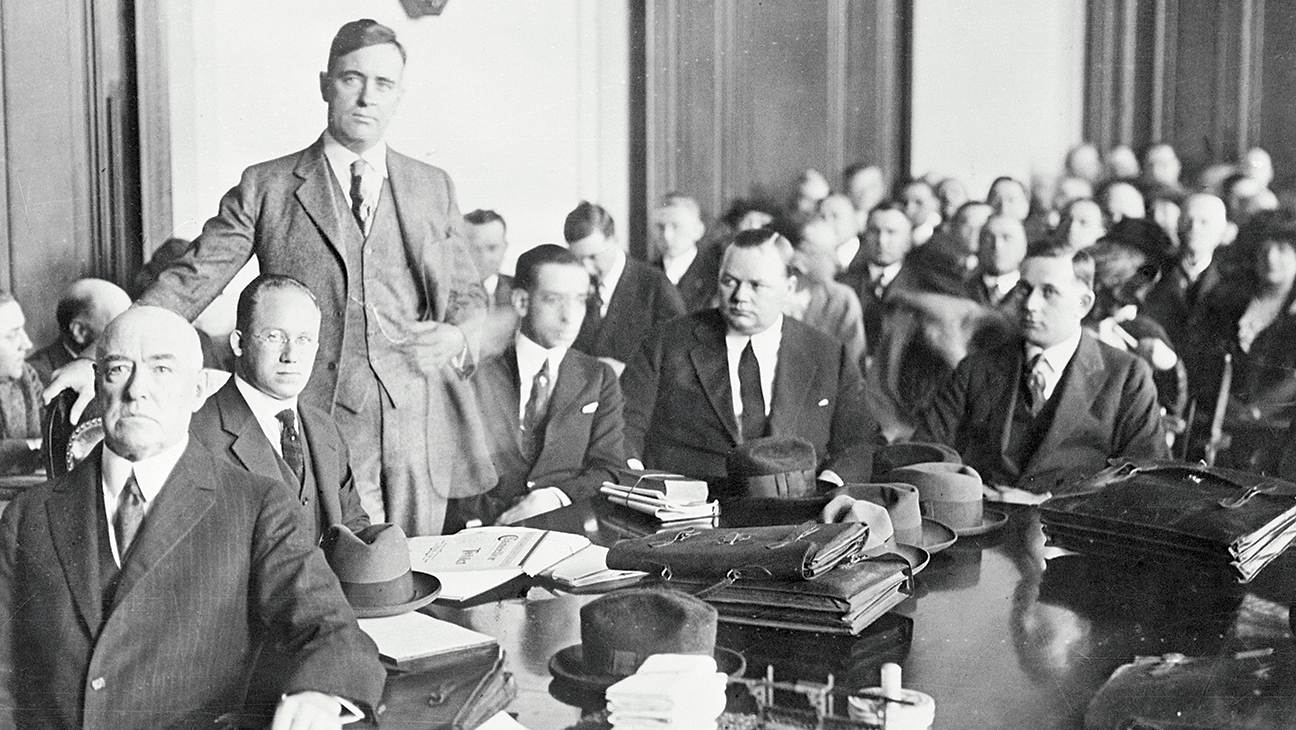 Fatty Arbuckle Trial Pictures