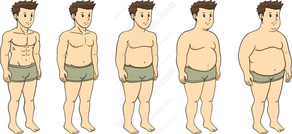 Five Stages Of Fat Jpg