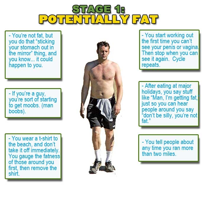 Five Stages Of Fat Pics