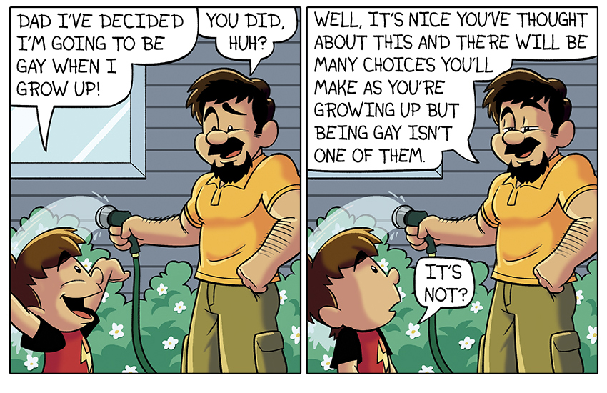 Gay Cartoon Father And Son Images