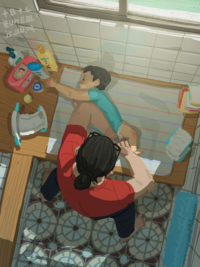 Gay Cartoon Father And Son HD
