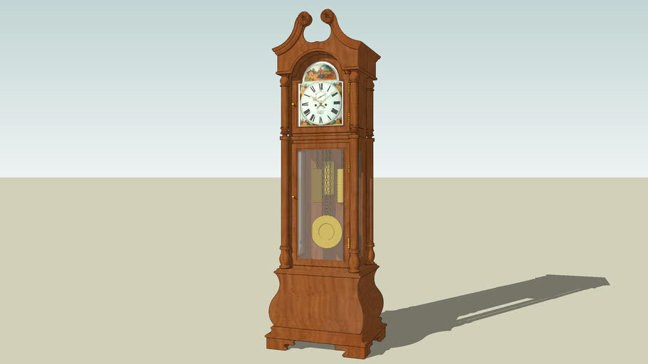 Grandfather Clock Model Images