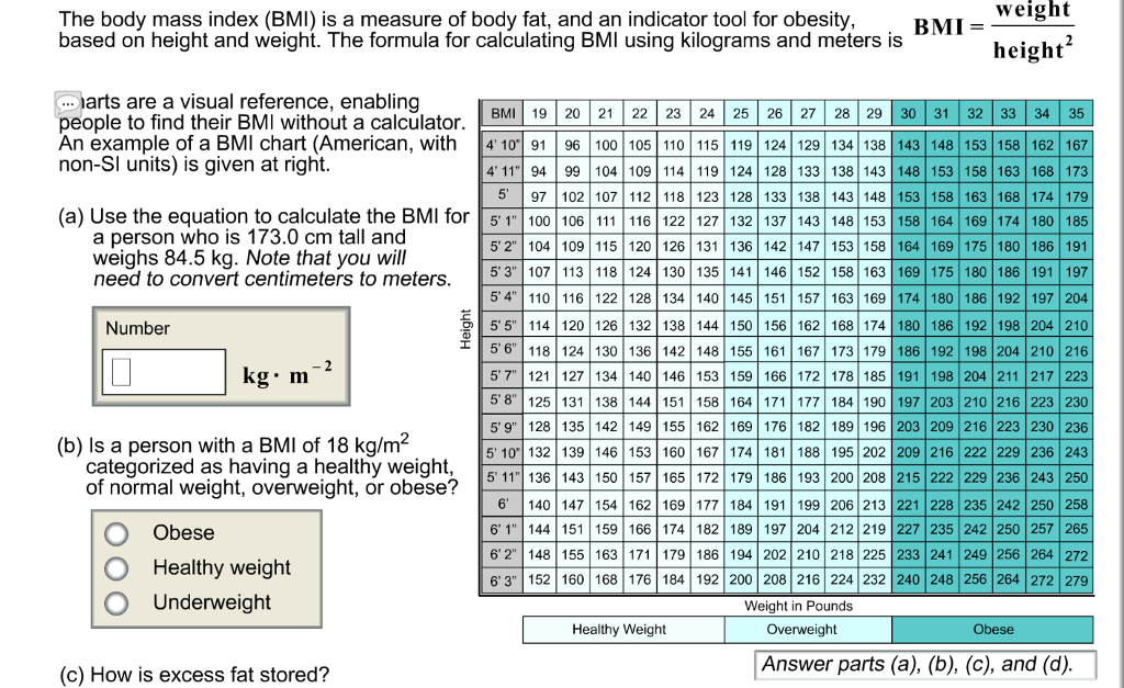 Height Weight Body Fat Calculator Pic