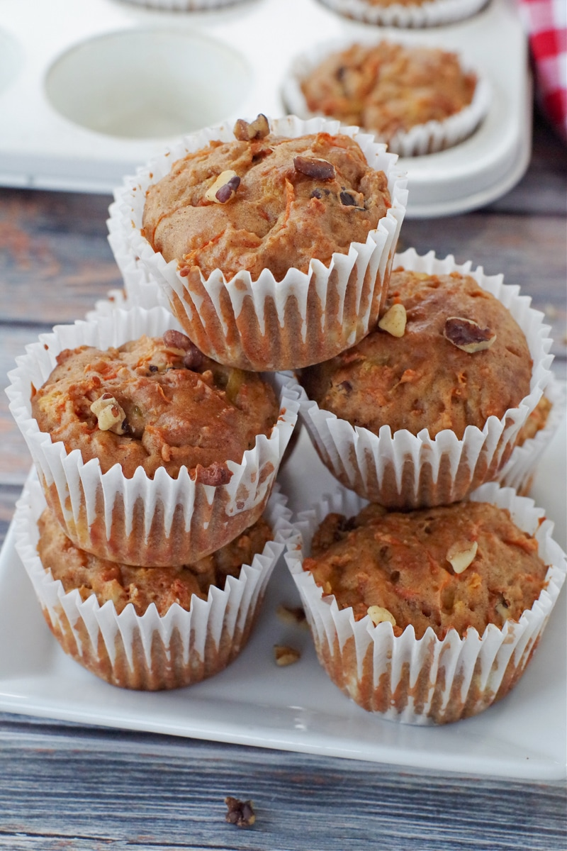 Low Fat Carrot Muffin