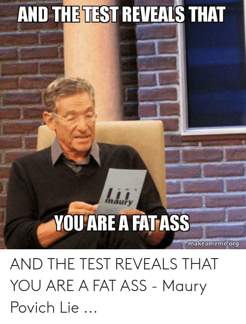 Maury Povich Fat Png