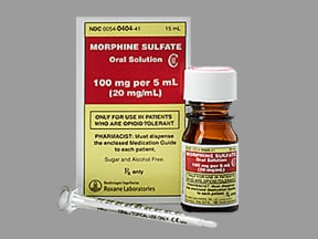 Morphine Sulfate Oral Images