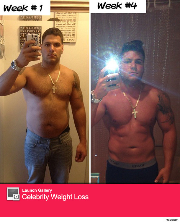 Ronnie Jersey Shore Fat Pictures