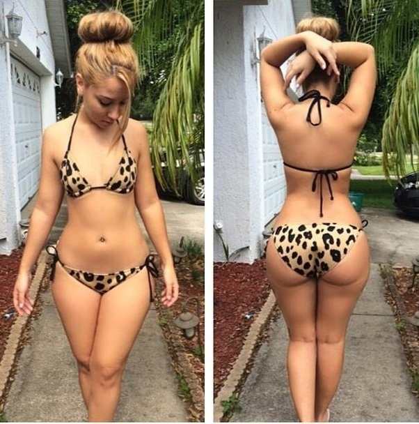 Skinny Girls With Fat Asses Gif