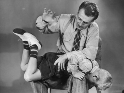 Spanked By Father Bible Photos