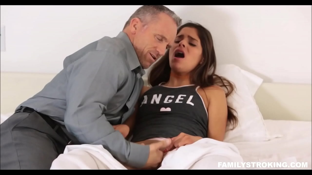 Stepfather Fucking Stepdaugther Alone Home. HD