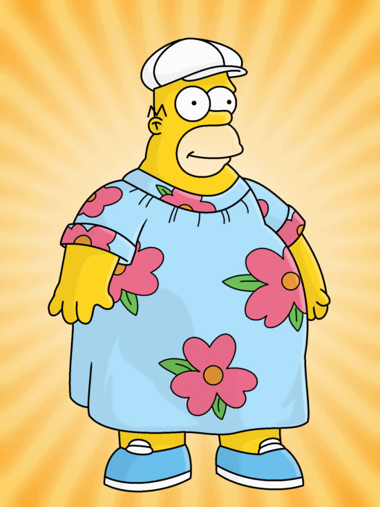 The Simpsons Fat Guy Hat HD