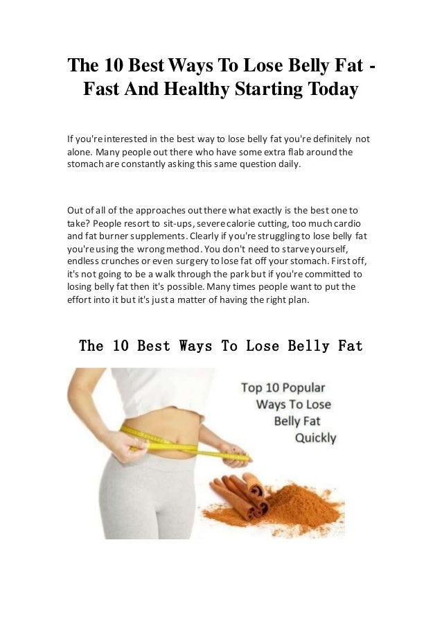 What Helps Lose Belly Fat Jpg