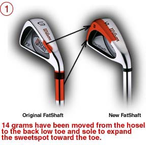 Wilson Fat Shaft Irons Review Pic