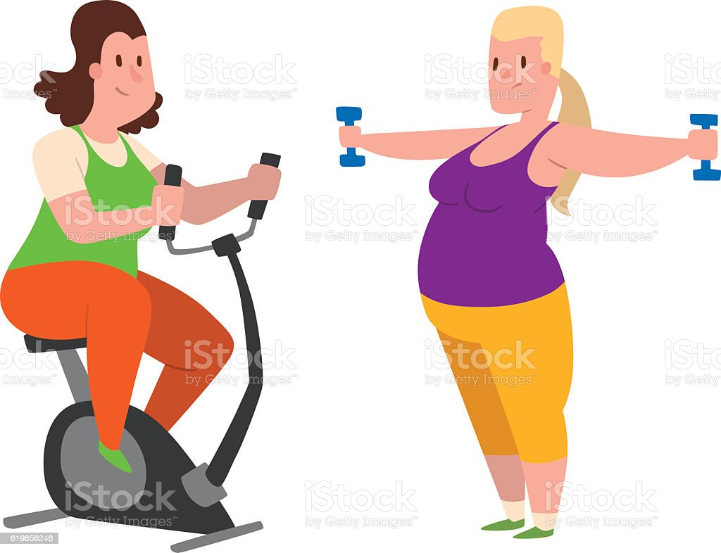 Workout For Fat People Png